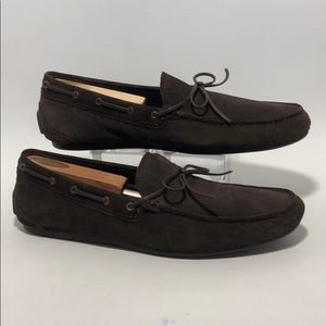 COACH Jasper Men's Brown Suede Loafers Size 9.5D